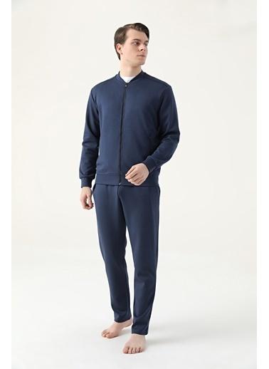 D'S Damat Regular Fit Pijama Takımı Lacivert